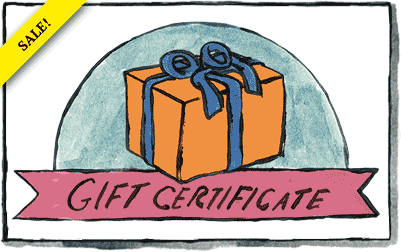 Two Dollar Radio Gift Certificate