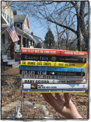 Two Dollar Radio Fiction Book Stack