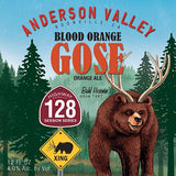 Anderson Valley Blood Orange Gose on the Radio Waves blog by Two Dollar Radio