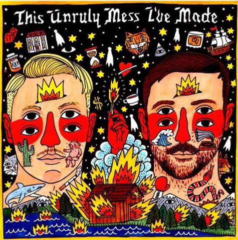 Macklemore and Ryan Lewis album cover by Ricardo Cavolo