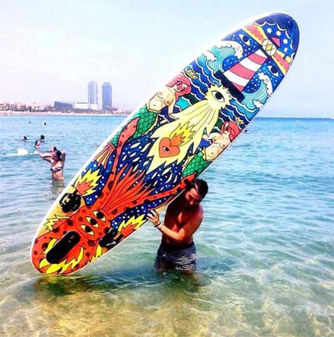 surfboard design by Ricardo Cavolo