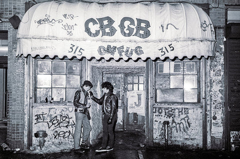 CBGB's on Radio Waves blog by Two Dollar Radio
