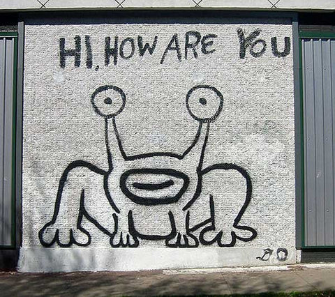 Hi How Are You Mural | TDR Radio Waves Blog