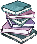 Two Dollar Radio book stack icon