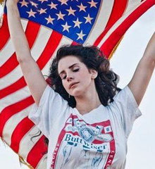 Lana del Rey Flag | Radio Waves