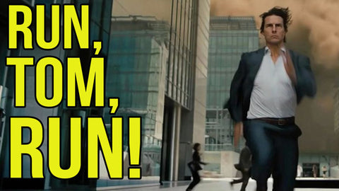Tom Cruise Running | Radio Waves