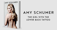 Amy Schumer, author of The Girl with the Lower Back Tattoo