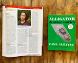 Alligator and Other Stories by Dima Alzayat Publishers Weekly starred review