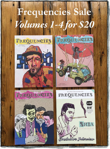 Frequencies Vol 1-4 sale