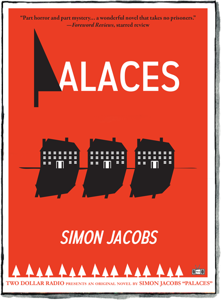 Palaces novel by Simon Jacobs