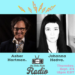 A conversation between Johanna Hedva and Asher Hartman