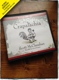 Audio edition of Crapalachia by Scott McClanahan, published by Recorded Books