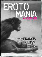 Front cover of Erotomania: A Romance by Francis Levy