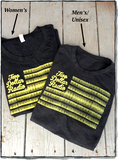 Two Dollar Radio 2015 flag men's and women's t-shirts