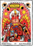 The Incantations of Daniel Johnston front cover by  a graphic novel by Ricardo Cavolo and Scott McClanahan