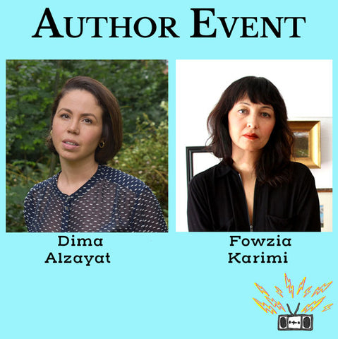 Author Reading with Dima Alzayat and Fowzia Karimi
