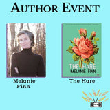 Two Dollar Radio Radio author reading with Melanie Finn
