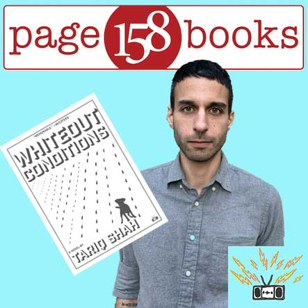 Author Event: Tariq Shah visits Page 158 via CrowdCast, April 2020
