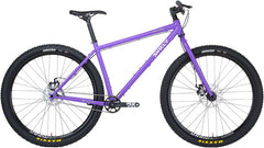 "Surly Karate Monkey Bike ""Stand Back Purple"" Single Speed MTB"