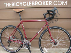 Surly Long Haul Trucker Disc Maroon Road Touring Commuter Bike