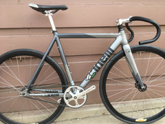 54cm Cinelli MASH Bolt 2.0 Custom Build Fixie Track Bike Fixed Gear