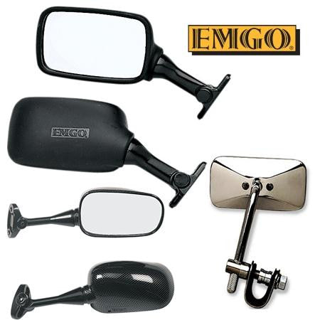 Aftermarket Emgo Replacement Mirrors