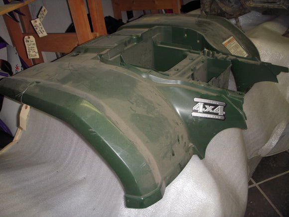 2003 YFM450 450 KODIAK YAMAHA atv GREEN REAR FENDER (5ND) ATV-211