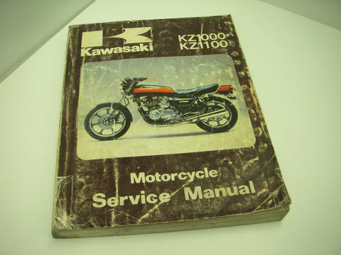 99924-1026-03 Kawasaki 1981-83 KZ1000 KZ1100 Manual