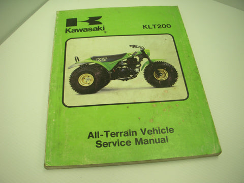 99963-0037-02 Kawasaki 1981 KLT200 A1 atv Manual