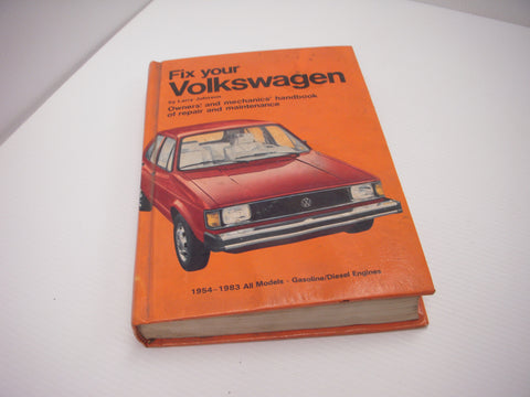 ISBN 0-87006-445-2 Fix Your Volkswagen 1954-83 all Models Manual