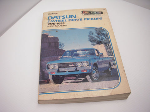 A-148 Clymer Datsun Pickups 2 Wheel Drive 1970-83 Manual