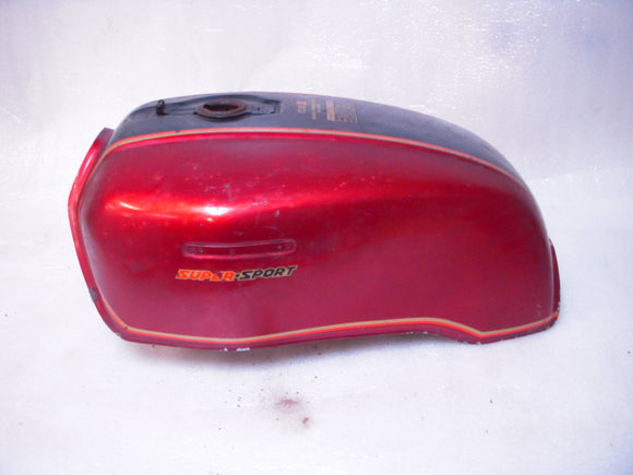 1979 CBX Honda Fuel Gas Tank Red Rusty Inside cbx-06