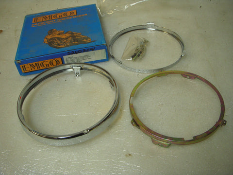 1979-80 Honda CB750 CB750F CB750K CBX 3-RING HEADLIGHT RETAINING RINGS EMGO 66-64334 CB-16