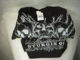 2X-Large Black with Chains T-Shirt Promotion Sturgis 2009 New With Tags