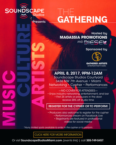 Soundscape Studios presents: The Gathering