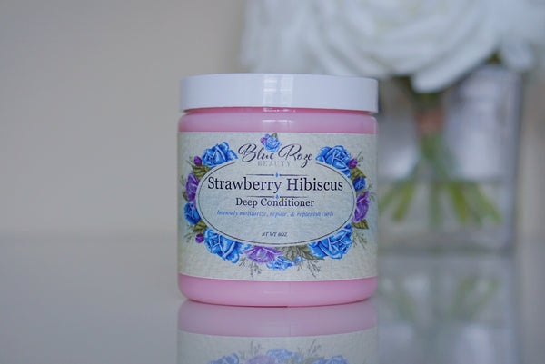 Strawberry Hibiscus deep conditioner
