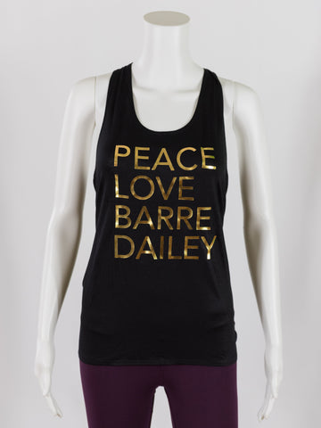 Peace Love Barre Dailey Knot Tank