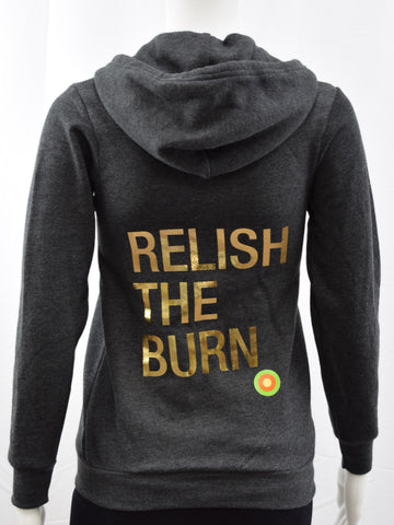 Relish The Burn Zip Hoody