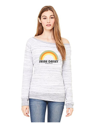 Shine Dailey Rainbow sweatshirt