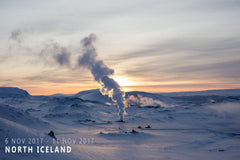 West and North Iceland Photo Tour, November 2017