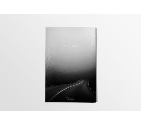 Nuit Blanche - Handmade photo book, pigment print