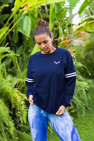Baggy and comfy women's long sleeved top uk