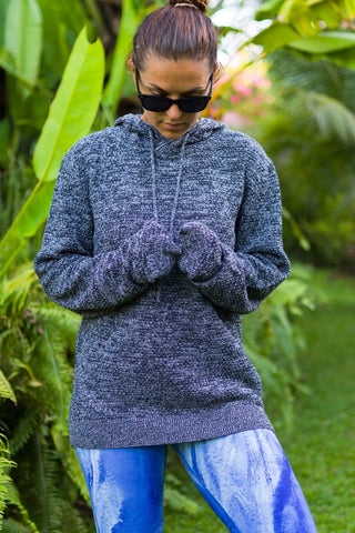 chunky knit eco jumper, fair trade knitted jumper
