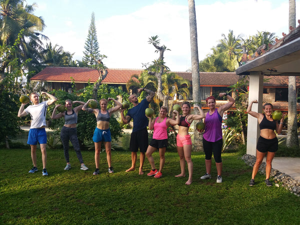 fitness retreats in Bali with New Horizon Escapes