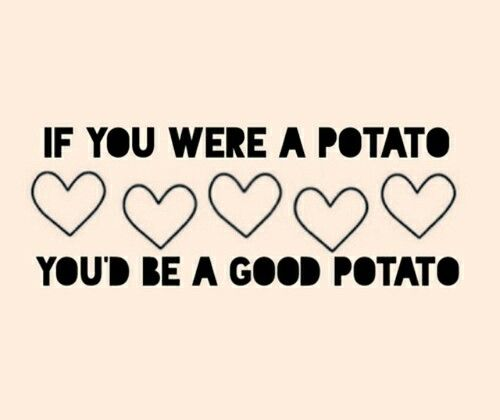 potato quote