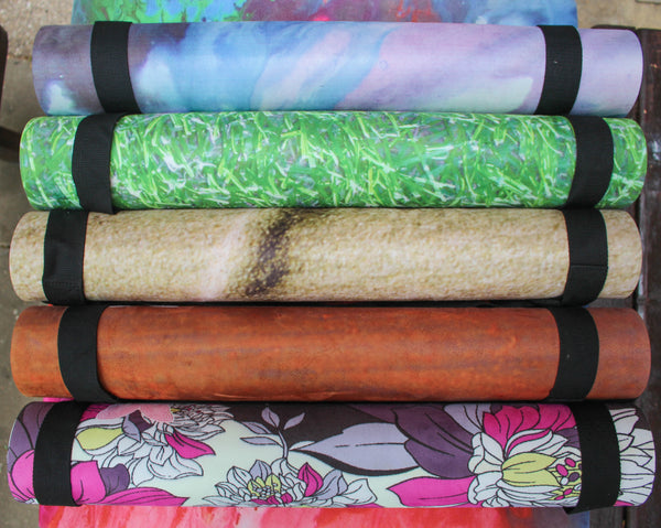 Eco & recyclable printed yoga mats UK