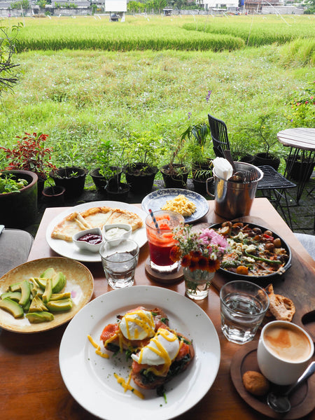 Breakfast cafes in Canggu Bali
