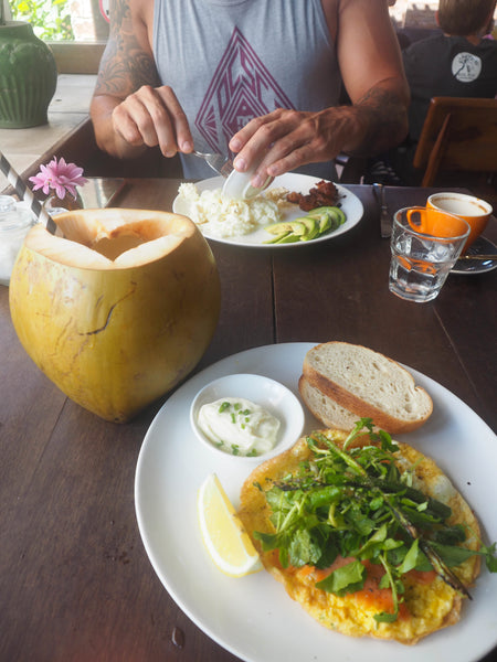 Healthy cafes around Canggu Bali