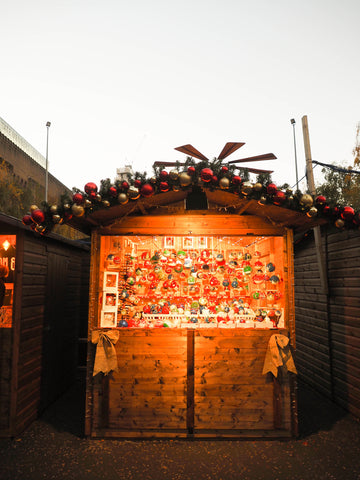 Christmas market in London 2016