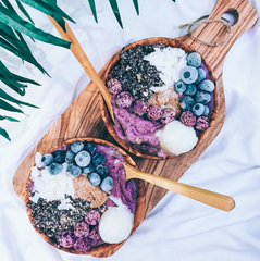 Healthy smoothie bowl ideas from Instagram